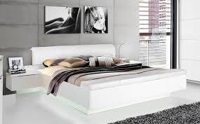 Schlafzimmer Bett Bilder Bettanlage 2 Nakos Weiss Bett Schlafzimmer Fussbank Kunstleder