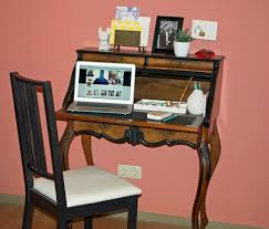 Secretary Desk For Small Spaces by Mini Office Space Reveal