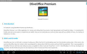 Spreadsheet App For Android Tablet Oliveoffice Premium Android Apps On Google Play