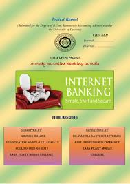 project on online banking in india