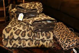 Cheetah Print Bathroom by Cheetah Print Bath Towels Bathroom Utensils