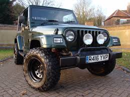 jeep station wagon lifted second hand jeep wrangler 4 0 sahara for sale in leighton buzzard
