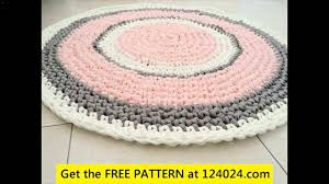 Crochet Doormat Crochet Rug With Yarn 1 Youtube