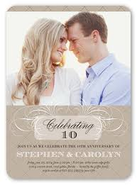wedding invitations shutterfly celebrating us 5x7 invitation wedding anniversary invitations