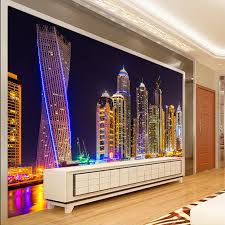 aliexpress com buy shinehome chinese cityscape night city aliexpress com buy shinehome chinese cityscape night city building wallpaper for 3 d wall living room mural rolls wall papers household home decal from