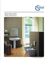 Ideal Standard Bathroom Furniture by Ideal Standard Bathrooms General Catalogue 2012 By Ideal Standard