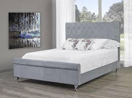 Platform Bed Canada Grid Tufted Velvet Platform Bed Frame Size
