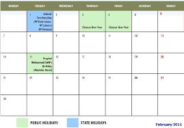 malaysia public holidays 2011 calendar malaysia states holidays