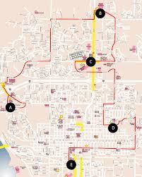 Nd Map Red 4 Route Bismarck Nd Bis Man Transit