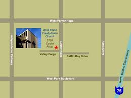 Plano Tx Map West Plano Presbyterian Church About Us