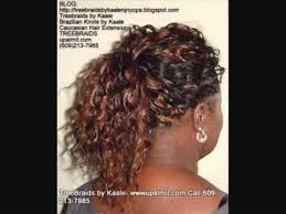 crochet braid ponytail tree braids ponytail by kaale call 609 213 7985