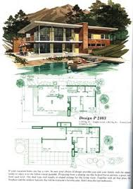 Modern Home Floor Plans Designs Mid Century Modern Floor Plans House Plans And Home Designs Free