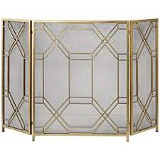 fireplace screens decorative freestanding designs ls plus