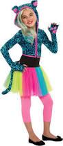 Halloween Neon Costume Leopard Costume