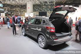 nissan qashqai 2017 2017 nissan qashqai rear with boot at the 2017 geneva motor show