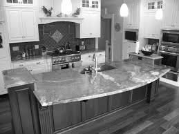 Kitchen Island Granite Countertop Grey Granite Countertops Black Wooden Kitchen Island With