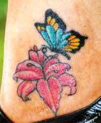 butterfly and flower tattoos insigniatattoo com