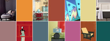 1950s color scheme color through the decades with sherwin williams