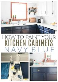 how to paint existing kitchen cabinets how we completely updated our kitchen for less than 1200