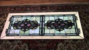 leaded glass door repair stained glass installation youtube