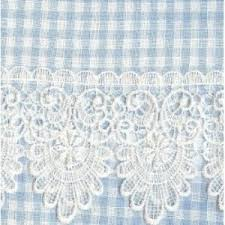 Kitchen Curtains Blue by The Gingham Curtain Blue Kitchen Curtains
