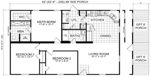 3 Bedroom 2 Bath Mobile Home Floor Plans Double Wide Mobile Homes Factory Expo Home Center