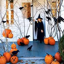 Outdoor Halloween Decorations Porch by The Domestic Curator Fun Outdoor Halloween Decor