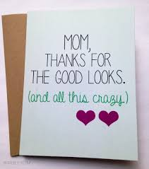 funny mom card mother u0027s day card mom birthday card gifts