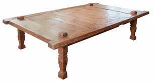antique weaver u0027s coffee table vintage teak wood accent tables