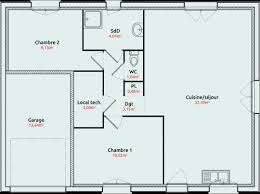 plan maison 100m2 3 chambres application plan maison lovely application pour plan de maison