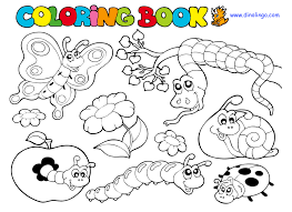 preschool coloring pages bugs bug coloring pages for preschool coloring pages impressive bugs