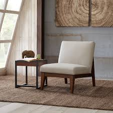 Wooden Accent Chair Kari Slant Back Wood Accent Chair See Below