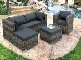 outsunny patio furniture outdoor rattan wicker lounge chair patio