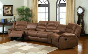 sectional sofas with recliners and cup holders manchester reclining sectional sofa cm6123 983 this