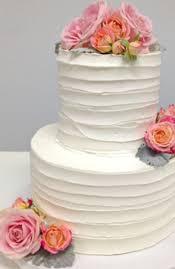 simple elegance white wedding cake from the solvang bakery