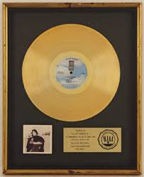 gold photo album lot detail joni mitchell hejira gold album award