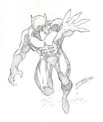 black panther pencil drawings 235373 jpg 400 472 lineart