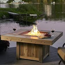 Gas Firepit Table Outdoor Pit Table Pit Table Gas