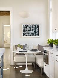 Eat In Kitchen Table Transitional Kitchen Features An Eat In Kitchen Boasting A