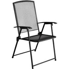 wrought iron chairs patio metal garden chair folding steel outdoor patio deck furniture