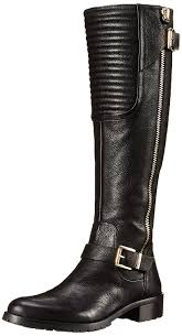 womens boots dillards vince camuto farren us 7 brown knee high boot s shoes