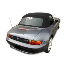bmw beamer convertible bmw z3 convertible top in black twillfast ii cloth with plastic window