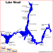 lake mead map lake mead map