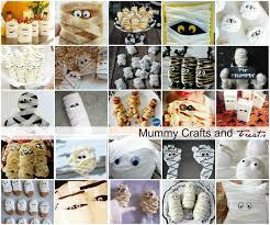 mummy crafts and treats halloween parties halloween displays