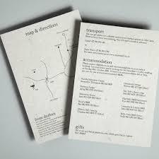 Wedding Inserts Inspiration For Information Inserts Wedding Stationery