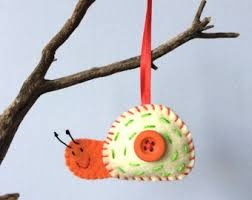 woodland ornaments etsy