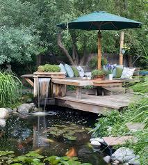Pretty Garden Ideas 15 Pretty Garden Pond With Deck Design Home Design And Interior