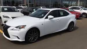 lexus sports car white 2015 lexus is 250 awd f sport series 2 review ultra white on red