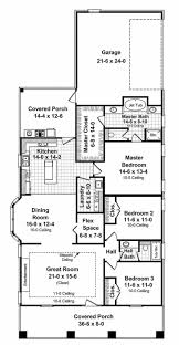 Floor Plans For One Level Homes by 23 Best House Plans Images On Pinterest Square Feet Dream House