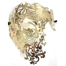 gold masquerade mask shop black and gold masquerade mask on wanelo